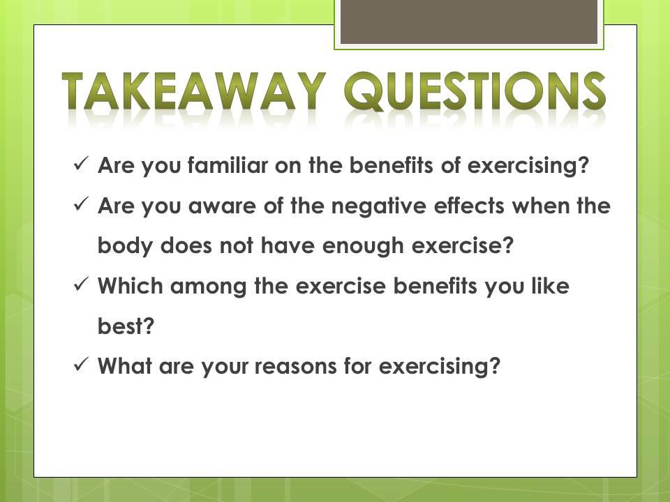 15 exercise benefits_q