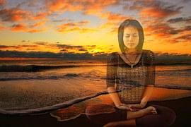 meditating and visualizing