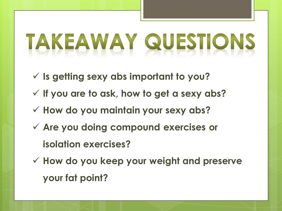 questions_getting abs