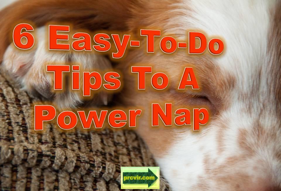 power nap tips