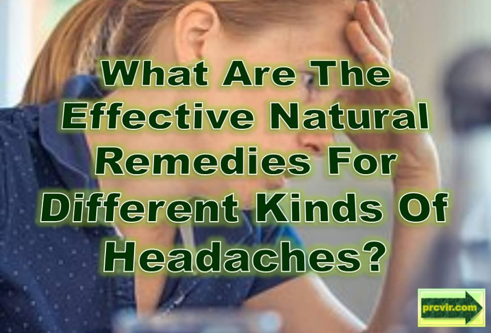 natural remedies_headaches