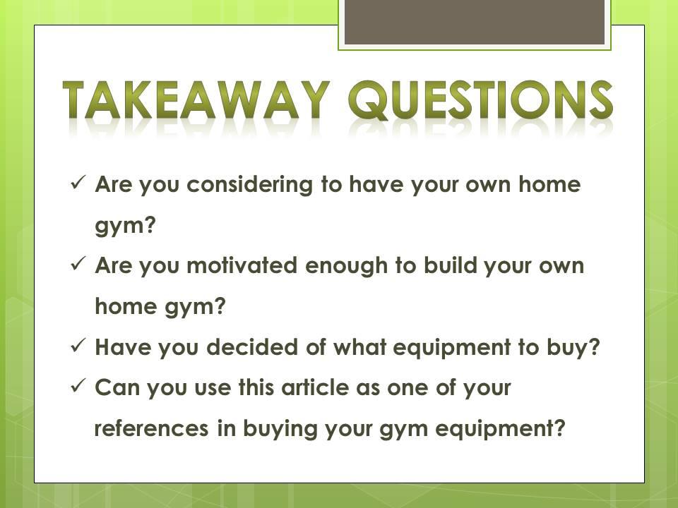 equipment for home gym_q
