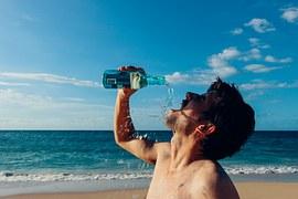 bodybuilding, drink water