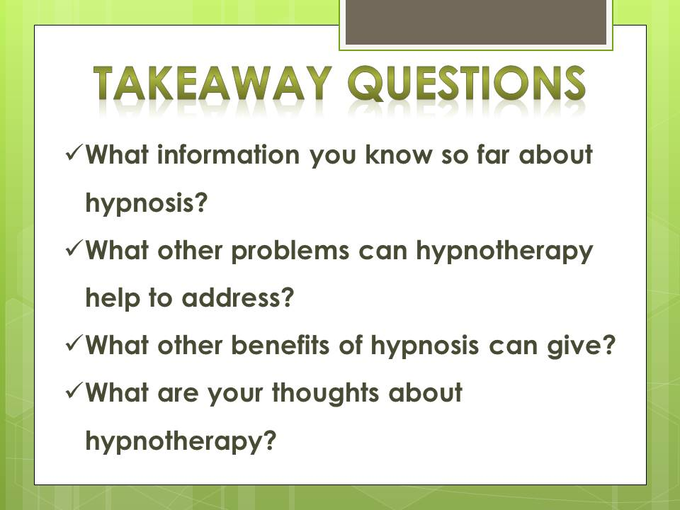 what to know hypnosis_q
