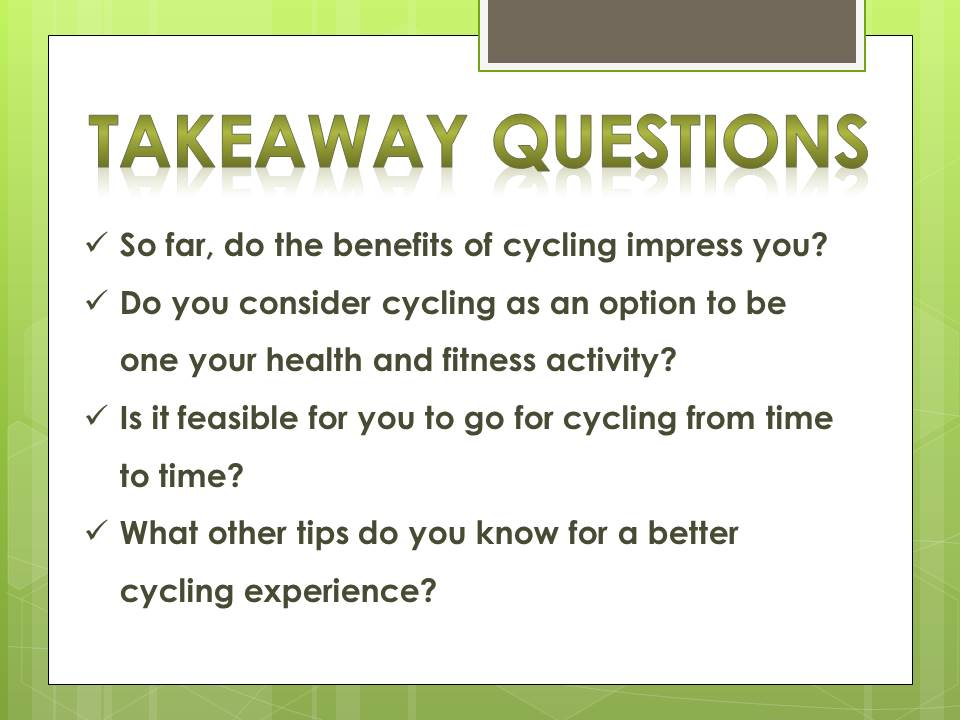 benefits of cycling_q