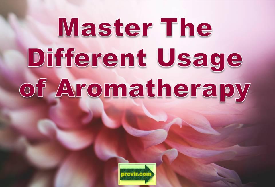 usage of aromatherapy