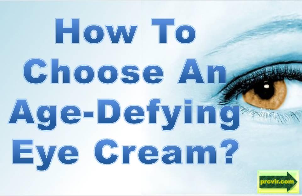 age defying eye cream