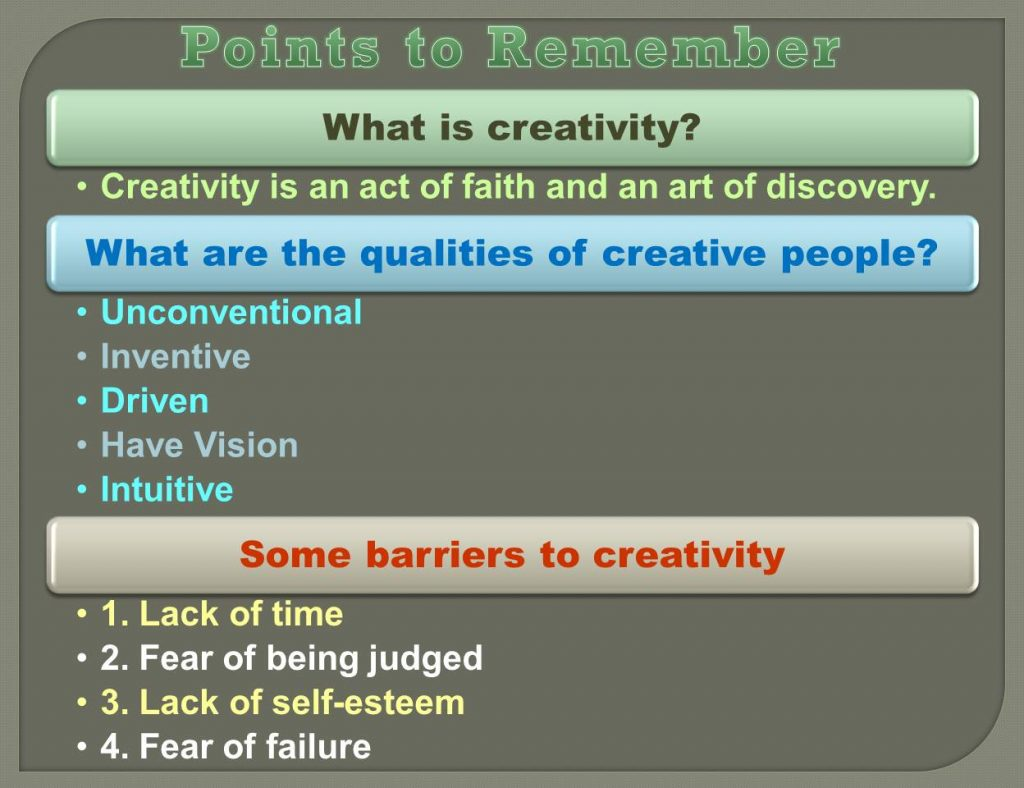 be creative_1