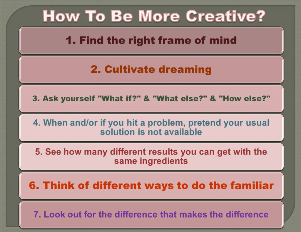 be creative_2