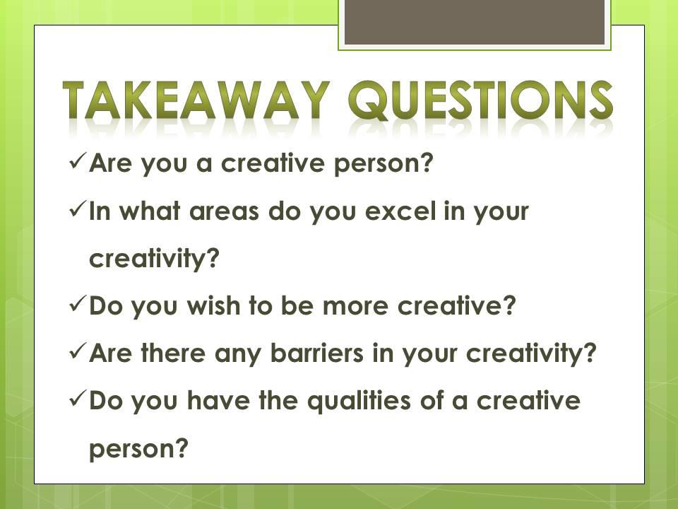 be creative_q