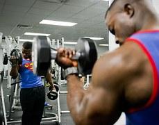 bodybuilder-strength training