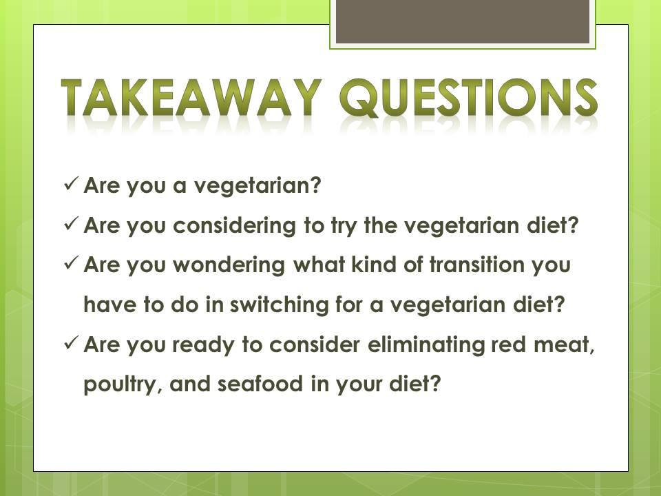vegetarian diet_q