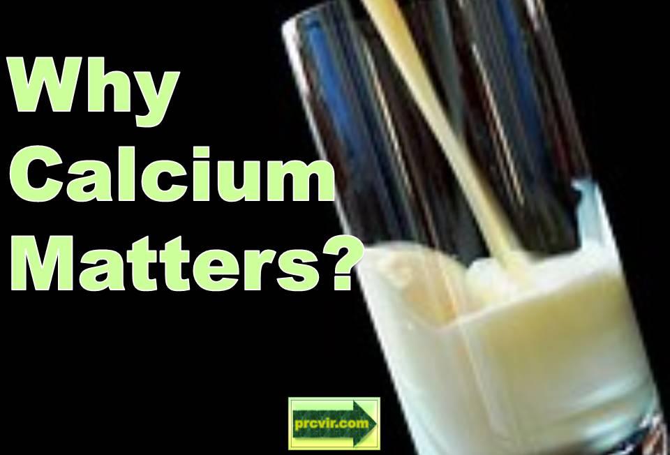 why calcium matters